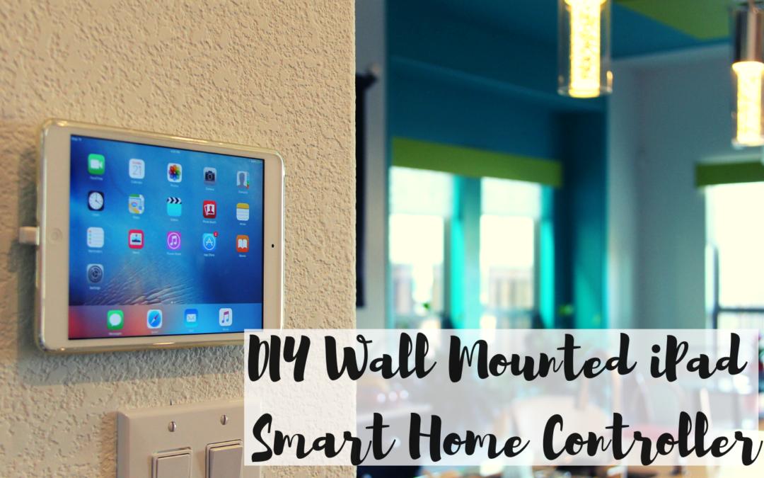Diy Wall Mounted Smart Home Controller Ipad Adorzz